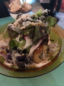 Salad, Pear,Seville, Restaurant, Slow Food