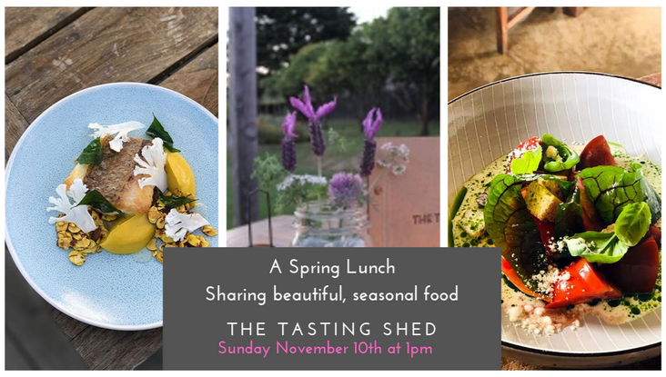 A Spring Lunch – Sharing beautiful, seasonal food