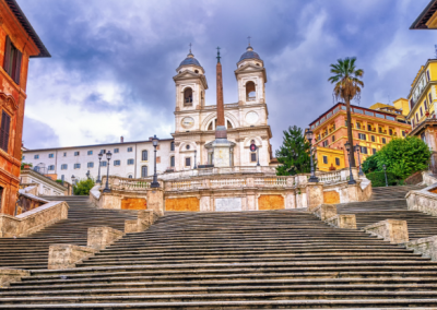 History Spanish Steps