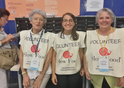 History Terra Madre Volunteers