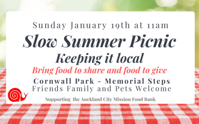 Slow Summer Picnic January 19th 2020