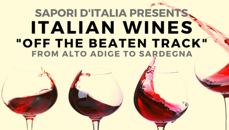 Italian Wines – Off the Beaten Track with Sapori D'Italia